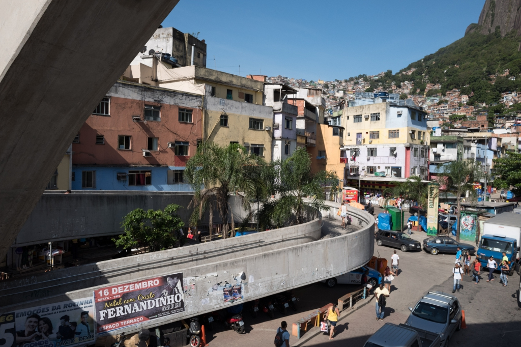 La sortie des Favelas